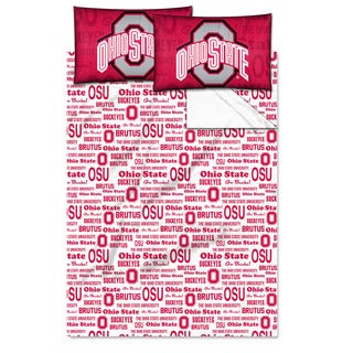 COL 821 Ohio State 'Anthem' Full-size Sheet Set