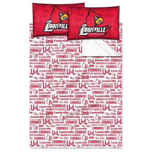 COL 821 Louisville 'Anthem' Full-size Sheet Set