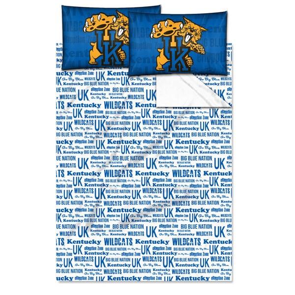 COL 821 Kentucky 'Anthem' Full-size Sheet Set