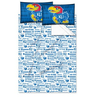 COL 821 Kansas 'Anthem' Full-size Sheet Set
