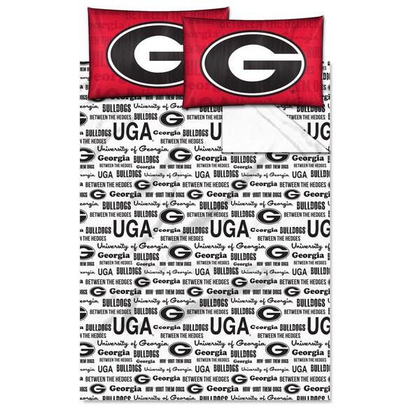 COL 821 Georgia 'Anthem' Full-size Sheet Set