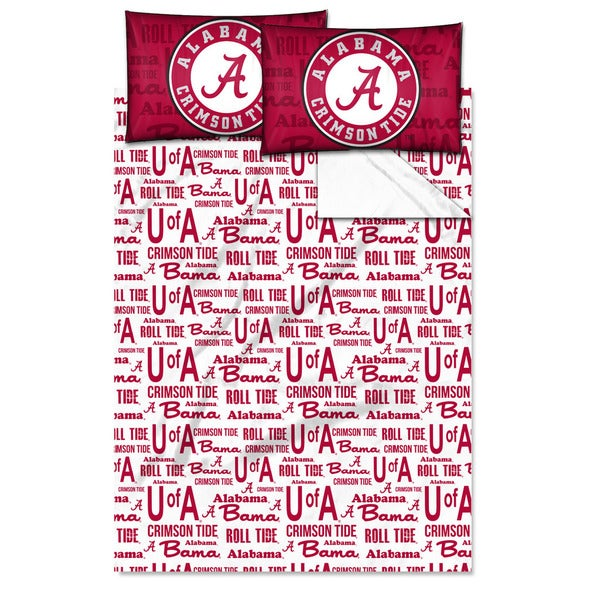 COL 821 Alabama 'Anthem' Full-size Sheet Set