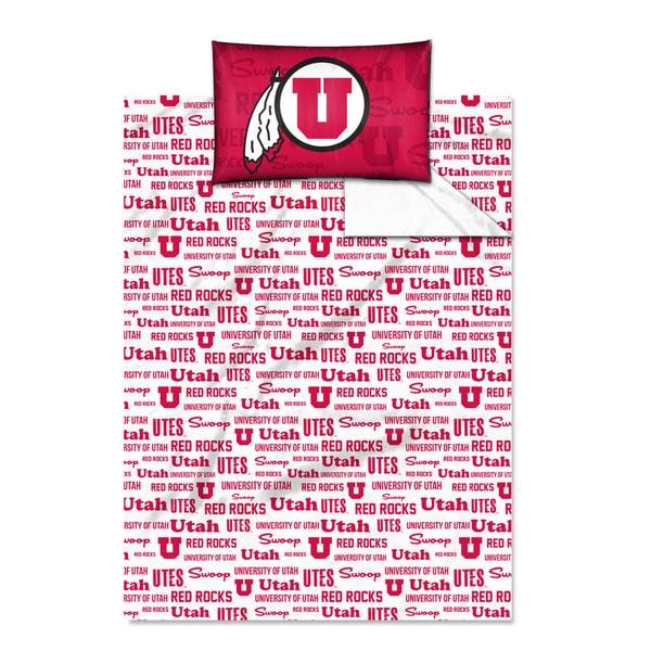 COL 820 Utah 'Anthem' Twin-size Sheet Set