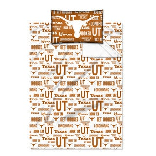 COL 820 Texas 'Anthem' Twin-size Sheet Set