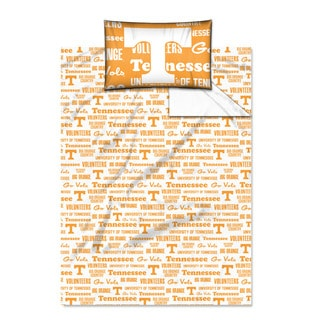 COL 820 Tennessee 'Anthem' Twin-size Sheet Set