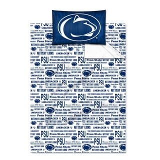 COL 820 Penn State 'Anthem' Twin-size Sheet Set