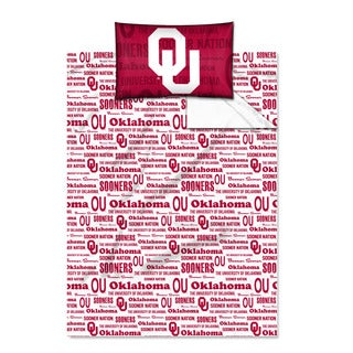 COL 820 Oklahoma 'Anthem' Twin-size Sheet Set