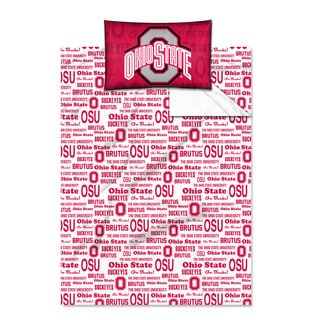 COL 820 Ohio State 'Anthem' Twin-size Sheet Set
