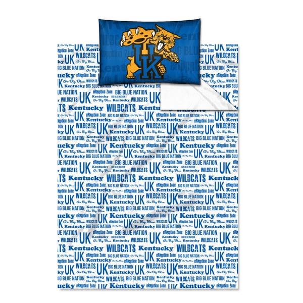COL 820 Kentucky 'Anthem' Twin-size Sheet Set