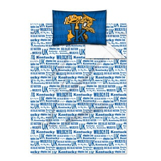 COL 820 Kentucky 'Anthem' Twin-size Sheet Set