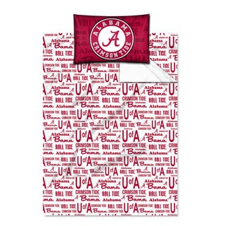 COL 820 Alabama 'Anthem' Twin-size Sheet Set