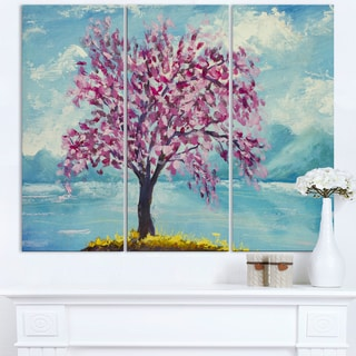 Blooming Sakura Flowers - Floral Canvas Art Print