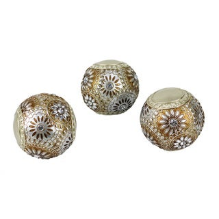 D'Lusso Designs Venus Collection PVC 3-piece Orbs Set