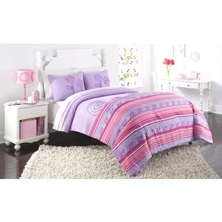AHF Kids Rachel Comforter and Quilt Set