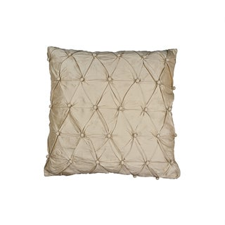 Sherry Kline Cassandra Toile 18-inch Gold Throw Pillow