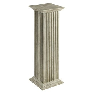 Cooper Classics Klein Off-white Wood Pedestal