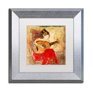 Joarez 'Vanessa' Matted Framed Art