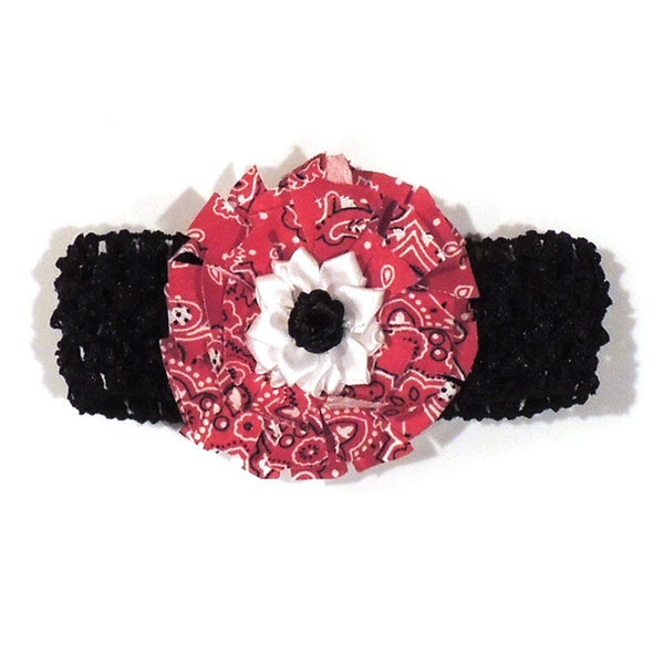 Girls Paisley Headband