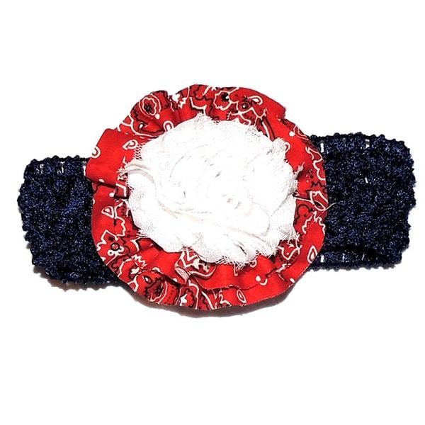 Paisley Rosette Headband