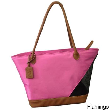 Pet Gear Inc. Nylon/Mesh Pet Tote Bag (Pink)
