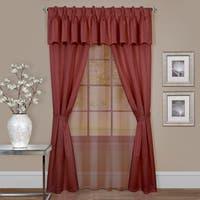 Achim Claire 6-piece Window Curtain Set