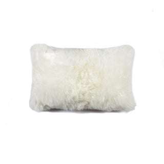 Natural New Zealand Sheepskin Pillow