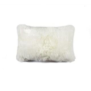 Natural New Zealand Sheepskin Pillow