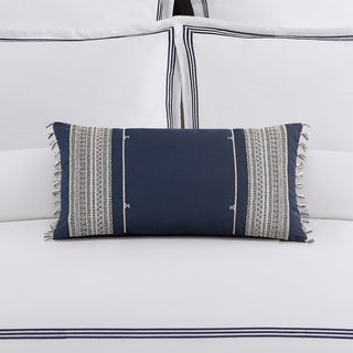 Echelon Home Mendocino Blue Decorative Throw Pillow