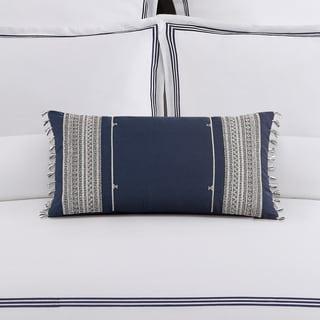 Echelon Home Mendocino Blue Decorative Throw Pillow