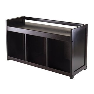 Addison Storage Bench with 3-section Storage Area