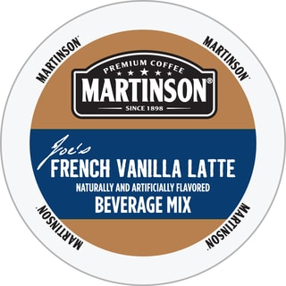 Martinson Coffee French Vanilla Latte RealCup Portion Pack for Keurig Brewers
