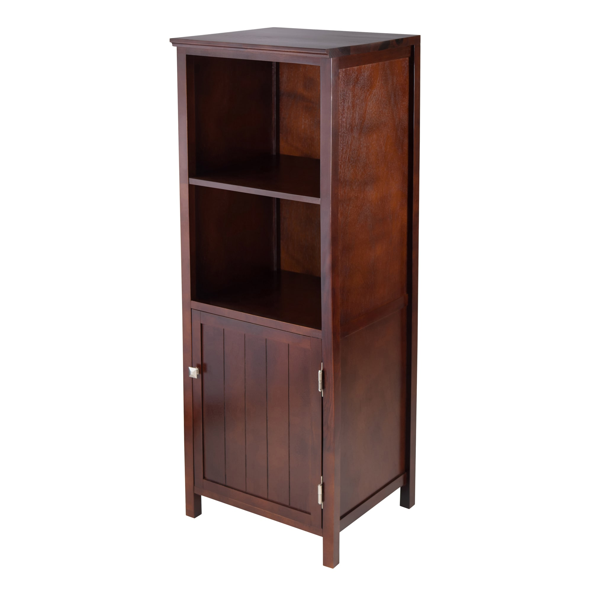 Brooke Wood Jelly Cupboard with 2 Shelves and Door (Antiq...