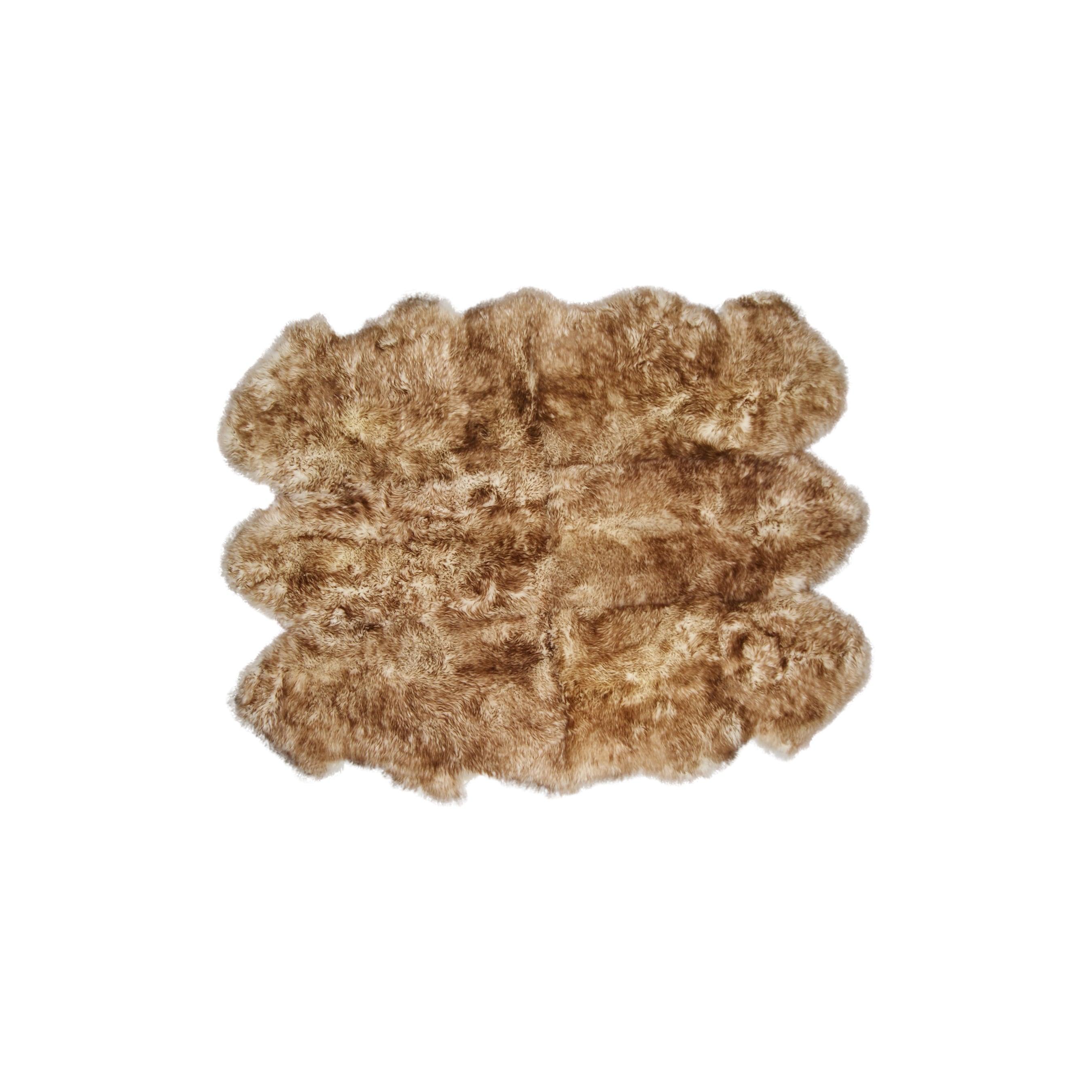 Sheepskin Grant Chocolate Rug