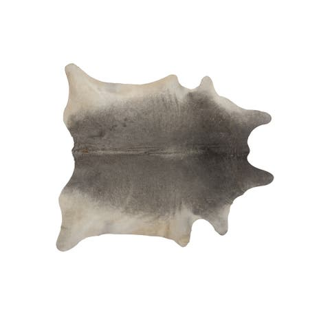 Geneva Natural Cowhide Area Rug (6' x 7') - 6' x 7'