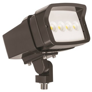 Lithonia Lighting OFL1 LED P2 40K MVOLT THK DDBXD M4 4000K Knuckle Mounted Size 1 Floodlight with P2 Performance Package