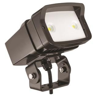 Lithonia Lighting OFL1 LED P1 40K MVOLT YK DDBXD M4 4000K Yoke Mounted Size 1 Floodlight with P1 Performance Package