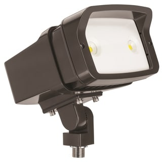 Lithonia Lighting OFL1 LED P1 50K MVOLT THK DDBXD M4 5000K Knuckle Mounted Size 1 Floodlight with P1 Performance Package