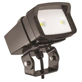 Lithonia Lighting OFL1 LED P1 50K MVOLT YK DDBXD M4 5000K Yoke Mounted Size 1 Floodlight with P1 Performance Package