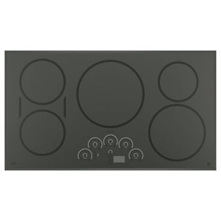 GE Cafe Series Black 36-inch Induction Cooktop