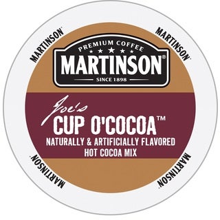 Martinson Cup O'Cocoa Hot Cocoa Mix RealCup Portion Pack for Keurig Brewers