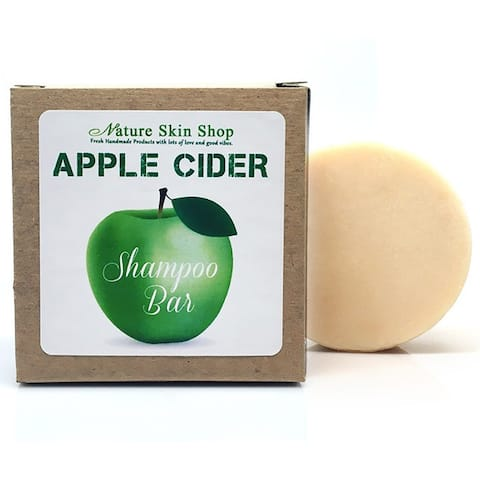 Apple Cider Shampoo Bar - Green/Brown