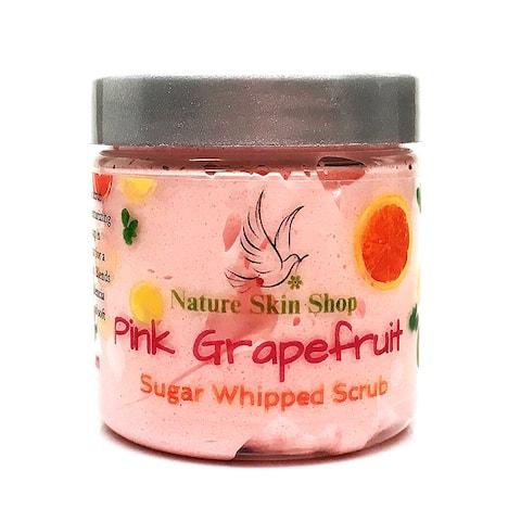 Handmade Grapefruit Whipped Sugar Soap Scrub
