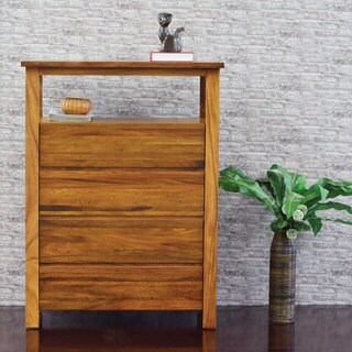 Cayu Live Edge 4-Drawer Chest