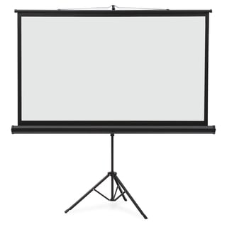 "Quartet Projection Screen - 91.8"" - 16:9 - Surface Mount - Black"