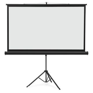 """Quartet Projection Screen - 91.8"""" - 16:9 - Surface Mount - Black