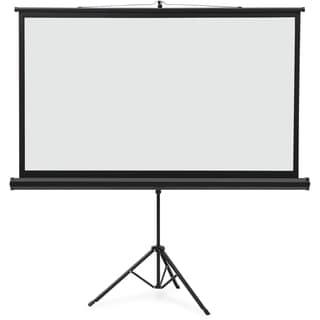 """Quartet Projection Screen - 105.7"""" - 16:9 - Surface Mount - Black"""