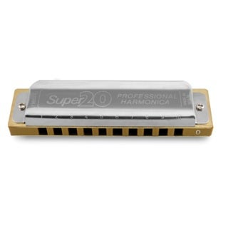 Hering Harmonicas 8020Bb Super 20 Diatonic Harmonica - Key of Bb