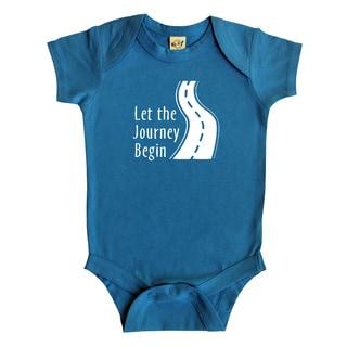 Rocket Bug 'Let the Journey Begin' Cotton Baby Bodysuit
