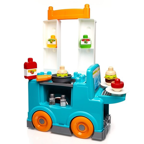 Shop Mattel Mega Bloks First Builders Food Truck Kitchen Free Shipping Today