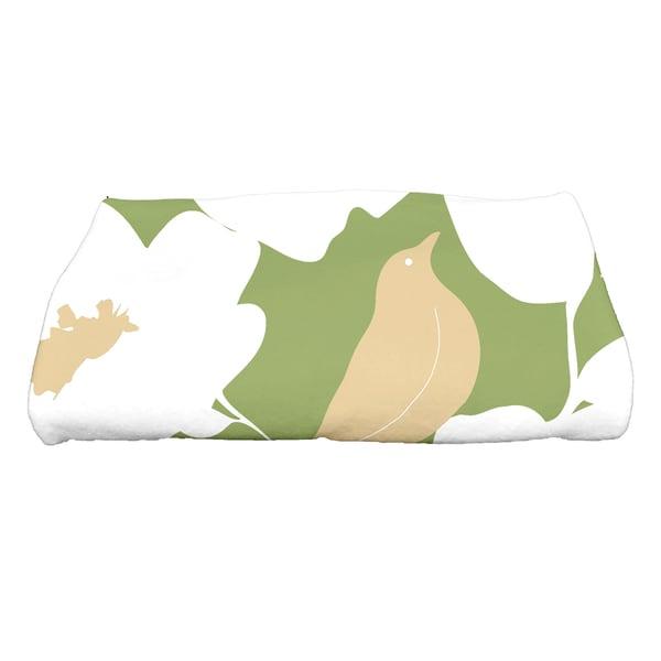 30 x 60-inch Modfloral Floral Print Bath Towel